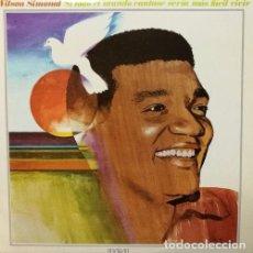 Discos de vinilo: WILSON SIMONAL SI TODO EL MUNDO CANTASE SERIA MAS FACIL SPANISH LP BOSSANOVA. Lote 79060461