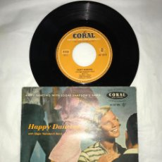 Discos de vinilo: EP HAPPY DANCING WITH EDGAR SAMPSON'S BAND - LULLABY IN RHYTHM+3 - CORAL RECORD 1956, GERMANY. Lote 79060557