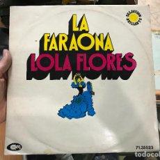 Discos de vinilo: LA FARAONA - LOLA FLORES - SELECCION BRILLANTE. Lote 79069437