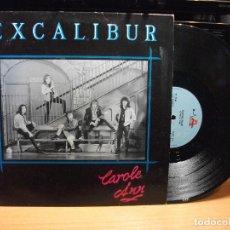 Discos de vinilo: EXCALIBUR - CAROLE ANN - MAXI UK ACTIVE 1990 HARD ROCK HEAVY METAL PEPETO. Lote 79071905