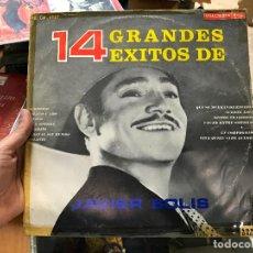 Discos de vinilo: JAVIER SOLIS - 14 GRANDES EXITOS. Lote 79072745