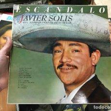 Discos de vinilo: JAVIER SOLÍS. ESCANDALO. CON ACOMPAÑAMIENTO DE MARIACHI.. Lote 79072841