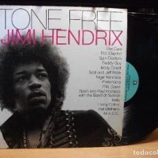 Discos de vinilo: STONE FREE. A TRIBUTE TO JIMI HENDRIX LP GERMANY REPRISE 9362-45438-1 1993 PEPETO. Lote 79072989
