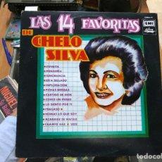 Discos de vinilo: LAS 14 FAVORITAS DE CHELO SILVA. Lote 79073009