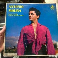Discos de vinilo: ANTONIO MOLINA ORCHESTRA MONTILLA LP MONTILLA FM113 EDICIÓN USA. Lote 79074721