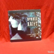 Discos de vinilo: BONNIE RAITT - I CAN'T MAKE YOU LOVE ME, PROMO, CAPITOL, 006 40 2377 7, DEL 1991, ESPAÑA.. Lote 79082925