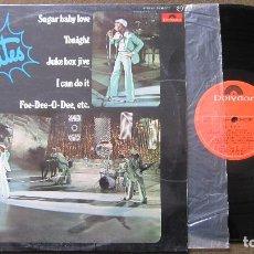 Discos de vinilo: RUBETTES: LP LOS GRANDES EXITOS 1975. SUGAR BABY LOVE Y OTROS. FUNCIONANDO........DIFICIL. Lote 79095977