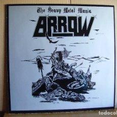 Disques de vinyle: ARROW ---- THE HEAVY METAL MANIA. Lote 79101353