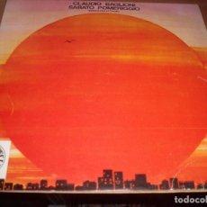 Discos de vinilo: LP DE CLAUDIO BAGLIONI. SABATO POMERIGGIO. EDICION CIRCULO DE LECTORES DE 1976.. Lote 79118485