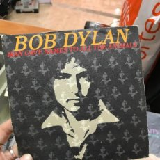 Discos de vinilo: BOB DYLAN-MAN GAVE NAMES TO ALL THE ANIMALS-WHEN HE RETURNS-PROMO-(CBS SINGLE 1979) SPÑ. Lote 79119437