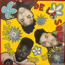 Discos de vinilo: DE LA SOUL FEET HIGH AND RISING. Lote 79120559