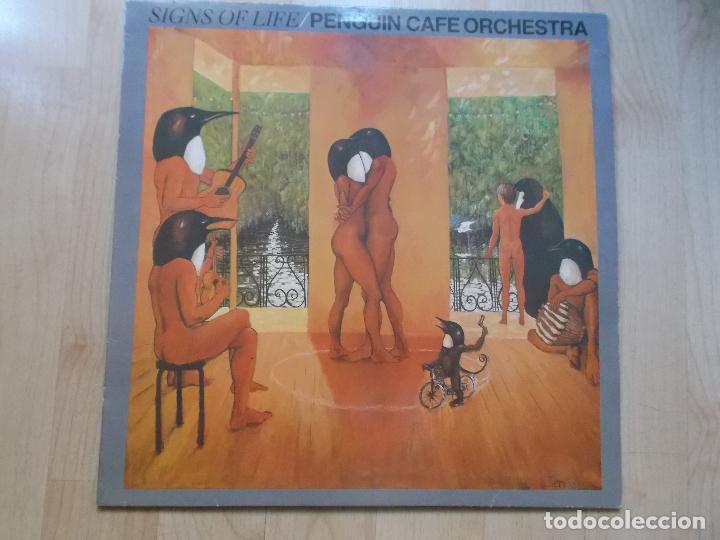 PENGUIN CAFE ORCHESTRA SIGNS 1987 ED ESPAÑOLA (Música - Discos - LP Vinilo - Pop - Rock - New Wave Extranjero de los 80)