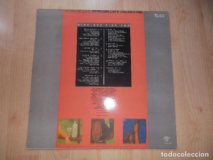 Discos de vinilo: PENGUIN CAFE ORCHESTRA SIGNS 1987 ED ESPAÑOLA - Foto 2 - 79121669