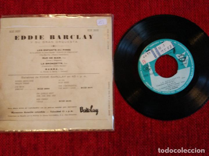 Discos de vinilo: EDDIE BARCLAY. Ep les enfants su Piree + 3 temas - Foto 2 - 79121853