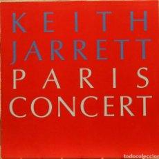 Discos de vinilo: KEITH JARRETT PARIS CONCERT 1990 LP INCLUYE NOTA DE PRENSA. Lote 79122383