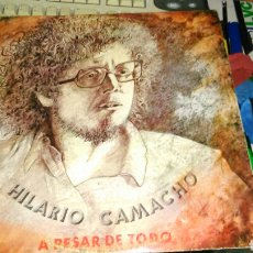 Discos de vinilo: HILARIO CAMACHO LP A PESAR DE TODO.EXPLOSION 1973. Lote 195366608