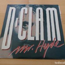 Discos de vinilo: LP D-CLAM MR HYDE JUSTINE RECORDS 1988 BUEN ESTADO. Lote 79126137
