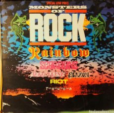 Discos de vinilo: MONSTERS OF ROCK (RAINBOW, RIOT, SAXON, SCORPIONS, APRIL WINE, TOUCH). Lote 82893839