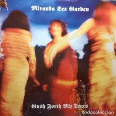 Discos de vinilo: MIRANDA SEX GARDEN-GUSH FORTH MY TEARS, SANNI RECORDS-12 MUTE 123. Lote 79148213