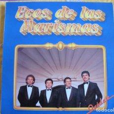 Discos de vinilo: LP - SEVILLANAS - ECOS DE LAS MARISMAS - QUEDATE (SPAIN, FONOMUSIC 1987). Lote 79148949