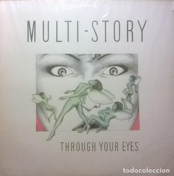MULTI-STORY ?– THROUGH YOUR EYE, FM ?– WKFM LP 98, UK (Música - Discos - LP Vinilo - Pop - Rock - Extranjero de los 70)