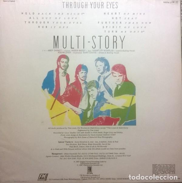 Discos de vinilo: Multi-Story ?– Through Your Eye, FM ?– WKFM LP 98, UK - Foto 2 - 79149401