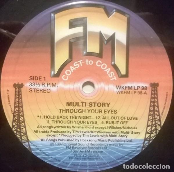 Discos de vinilo: Multi-Story ?– Through Your Eye, FM ?– WKFM LP 98, UK - Foto 3 - 79149401
