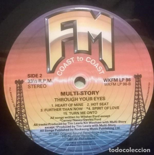 Discos de vinilo: Multi-Story ?– Through Your Eye, FM ?– WKFM LP 98, UK - Foto 4 - 79149401