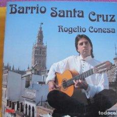 Discos de vinilo: LP - ROGELIO CONESA - BARRIO SANTA CRUZ (SPAIN, PASARELA 1992, PORTADA DOBLE). Lote 179182326