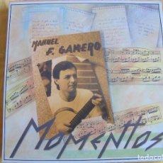 Discos de vinilo: LP - MANUEL F. GAMERO - MOMENTOS (SPAIN, PAÑOLETA RECORDS 1987). Lote 277560713