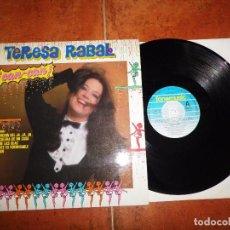 Discos de vinilo: TERESA RABAL ¡ CAN-CAN ! LP VINILO DEL AÑO 1984 CONTIENE 10 TEMAS EDUARDO RODRIGO. Lote 79157357