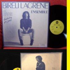Discos de vinilo: BIRELI LAGRENE LIVE 1985 - ORG EDT, GYPSY JAZZ..GREAT GUITAR VIRTUOSO CON SOLO 15 AÑOS, IMPECABLE. Lote 182226091