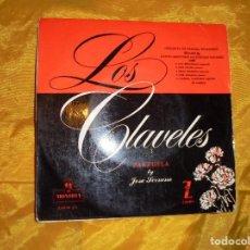 Discos de vinilo: LOS CLAVELES ( ZARZUELA) JOSE SERRANO. ORQUESTA DE CAMARA DE MADRID. MONTILLA 1959. Lote 79161745