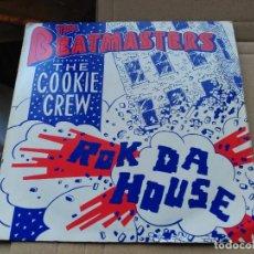 Discos de vinilo: 7'' THE BEATMASTERS FEAT. THE COOKIE CREW - ROK DA HOUSE - UK 1987 VG+. Lote 79169577