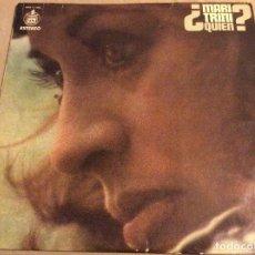Vinyl-Schallplatten - MARI TRINI. ¿QUIEN? LP HISPAVOX 1974 - 79181785