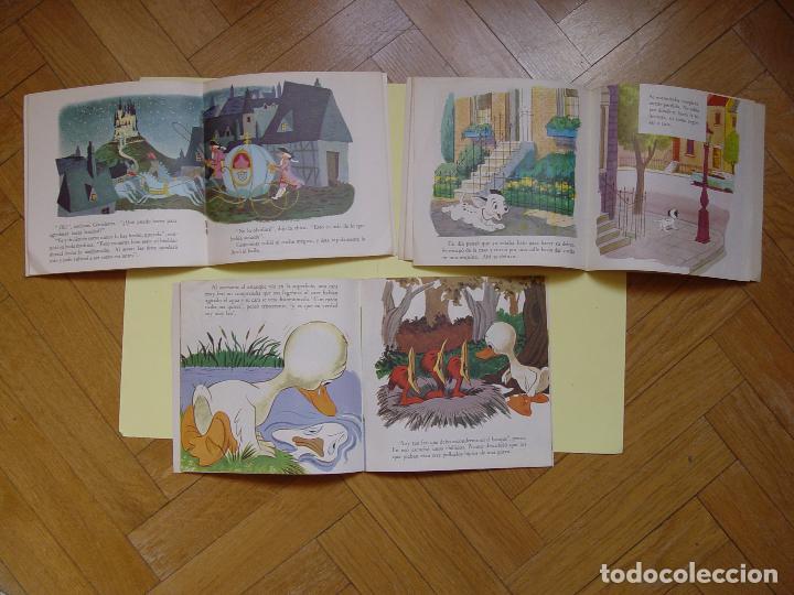 Discos de vinilo: 3 cuentodiscos: Cenicienta, 101 Dálmatas y El patito feo.(Walt Disney)Bruguera,1967-72.Vinilo Single - Foto 3 - 122284372