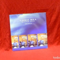 Discos de vinilo: CHRIS REA - WINTER SONG, FOOTPRINTS IN THE SNOW, TELL ME THERE'S A HEAVEN, PROMO, EW EAST WEST, 1991. Lote 79194317