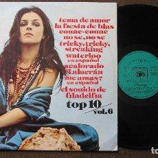 Discos de vinilo: CBS TOP 10 VOL.6 LP VERSIONES ORIGINALES..........FUNCIONANDO. Lote 79221649