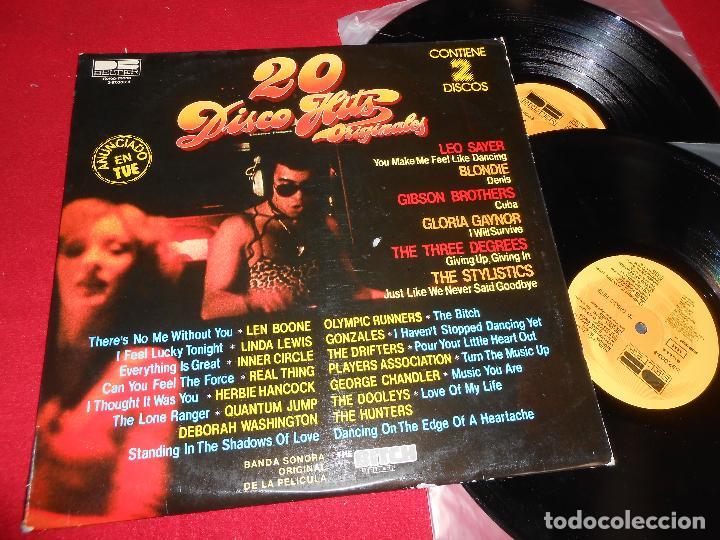20 DISCO HITS 2LP 1980 BELTER EDICION ESPAÑOLA SPAIN BLONDIE + THE DRIFTERS + LEO SAYER + ETC (Música - Discos - LP Vinilo - Disco y Dance)