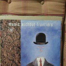 Discos de vinilo: MUSIC WITHOUT FRONTIERS VESD30 DISCO DOBLE DEL SELLO VENTURE. Lote 79242929