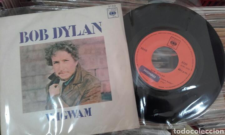Discos de vinilo: Wigwam. Bob Dylan. 1970 - Foto 2 - 79248067