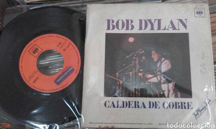 Discos de vinilo: Wigwam. Bob Dylan. 1970 - Foto 3 - 79248067