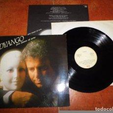 Discos de vinilo: DYANGO POR AMOR AL ARTE LP VINILO DEL AÑO 1985 CON ENCARTE CONTIENE 10 TEMAS. Lote 79253269