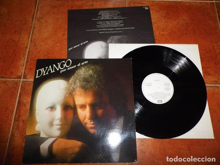 DYANGO POR AMOR AL ARTE LP VINILO PROMO DEL AÑO 1985 CON ENCARTE CONTIENE 10 TEMAS (Música - Discos - LP Vinilo - Solistas Españoles de los 70 a la actualidad)