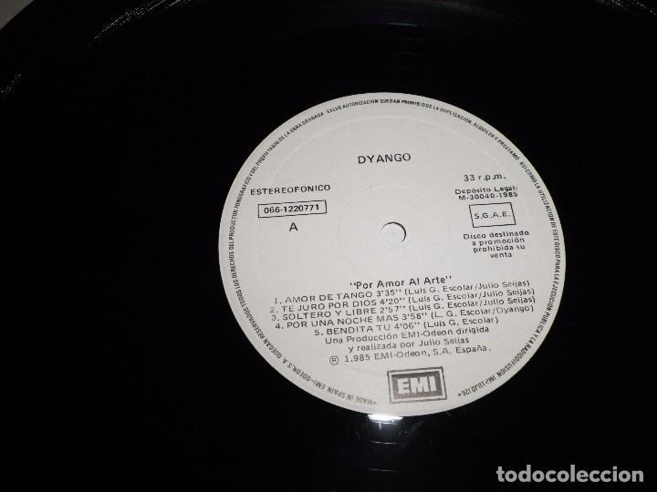 Discos de vinilo: DYANGO Por amor al arte LP VINILO PROMO DEL AÑO 1985 CON ENCARTE CONTIENE 10 TEMAS - Foto 2 - 79253525