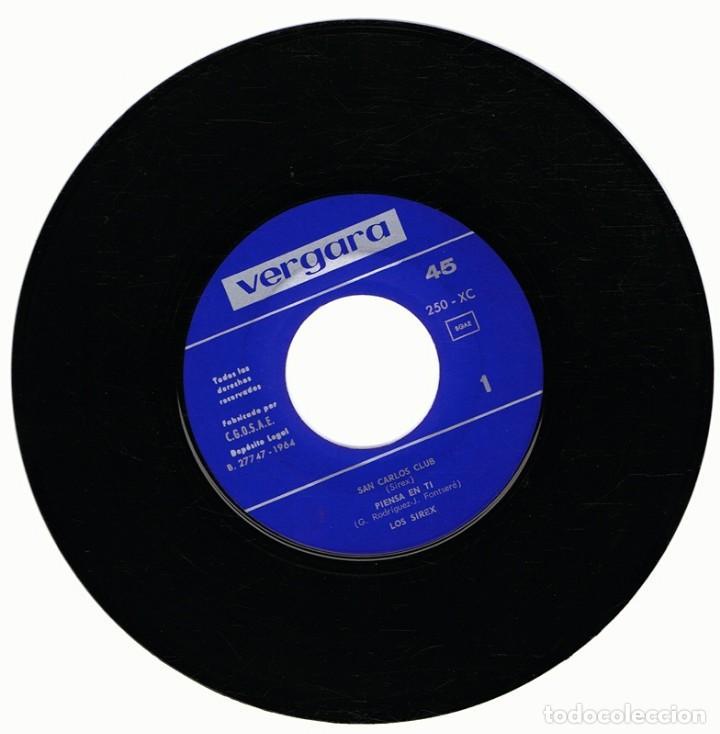Discos de vinilo: LOS SIREX INTERPRETAN SUS CANCIONES LP AÑO 1964 - Foto 2 - 79266193