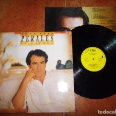 Discos de vinilo: JOSE LUIS PERALES LA ESPERA LP VINILO PROMO DEL AÑO 1988 CON ENCARTE CONTIENE 10 TEMAS. Lote 79300633