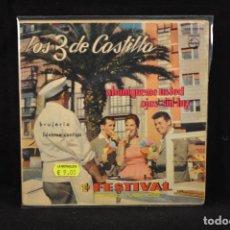 Discos de vinilo: LOS 3 DE CASTILLA - ABANIQUEME USTED +3 - EP. Lote 79300981