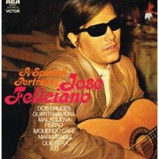 Discos de vinilo: JOSE FELICIANO - A SPANISH PORTRAIT OF JOSE FELICIANO - DOBLE LP 1972 - ED. ALEMANIA. Lote 79306533