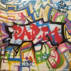 Discos de vinilo: RAP'IN SPANISH 2 LP OLD SKOOL RAP COMPILATION HIP HOP IZZY ICE KOOL MOE DOE ETC.. Lote 79487661